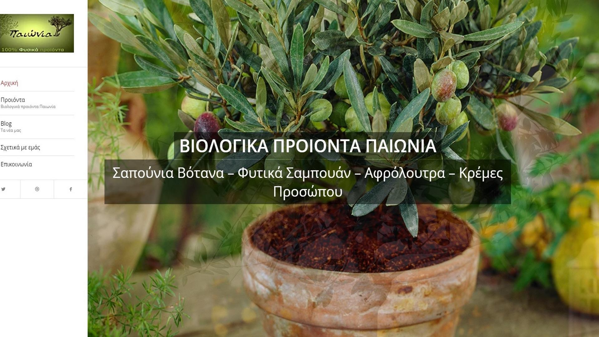 paionia.eu main site